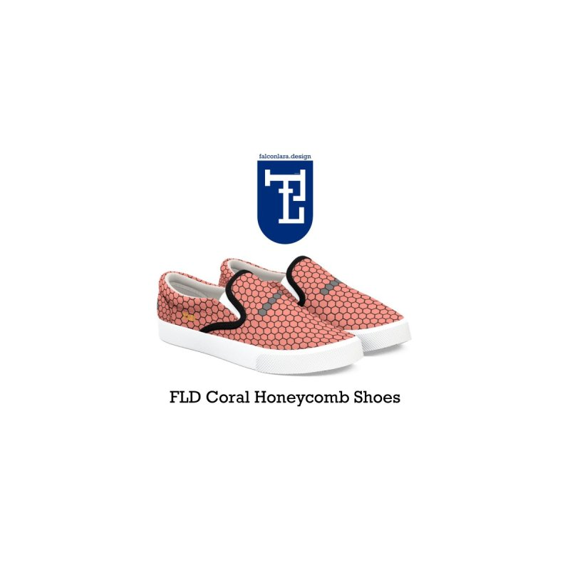 FLD Coral Honeycomb Shoes   by falconlara.design shop