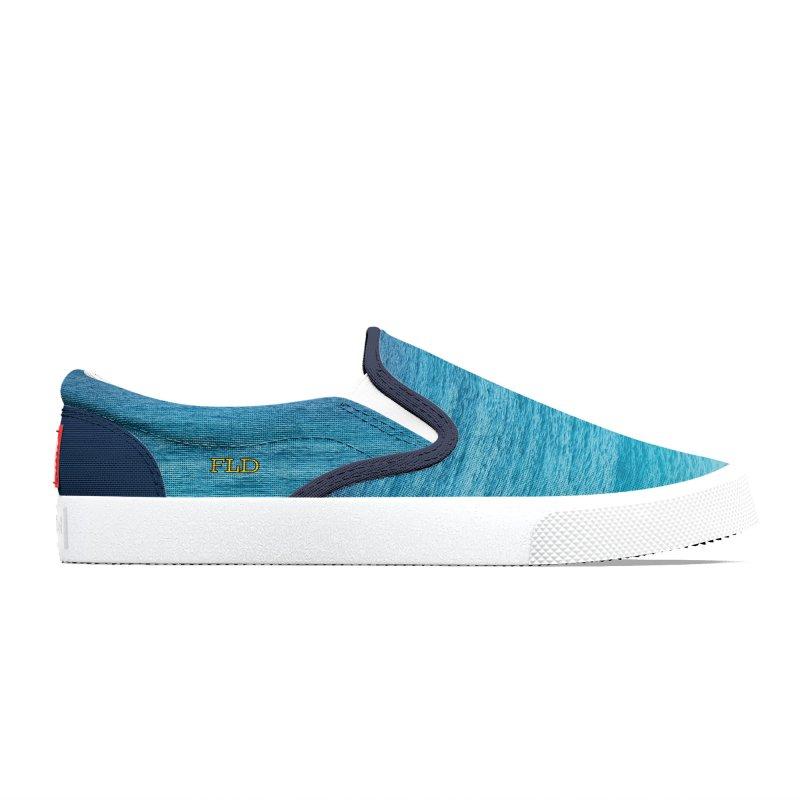 FLD Caribbean Blue Shoes Men's Shoes by falconlara.design shop