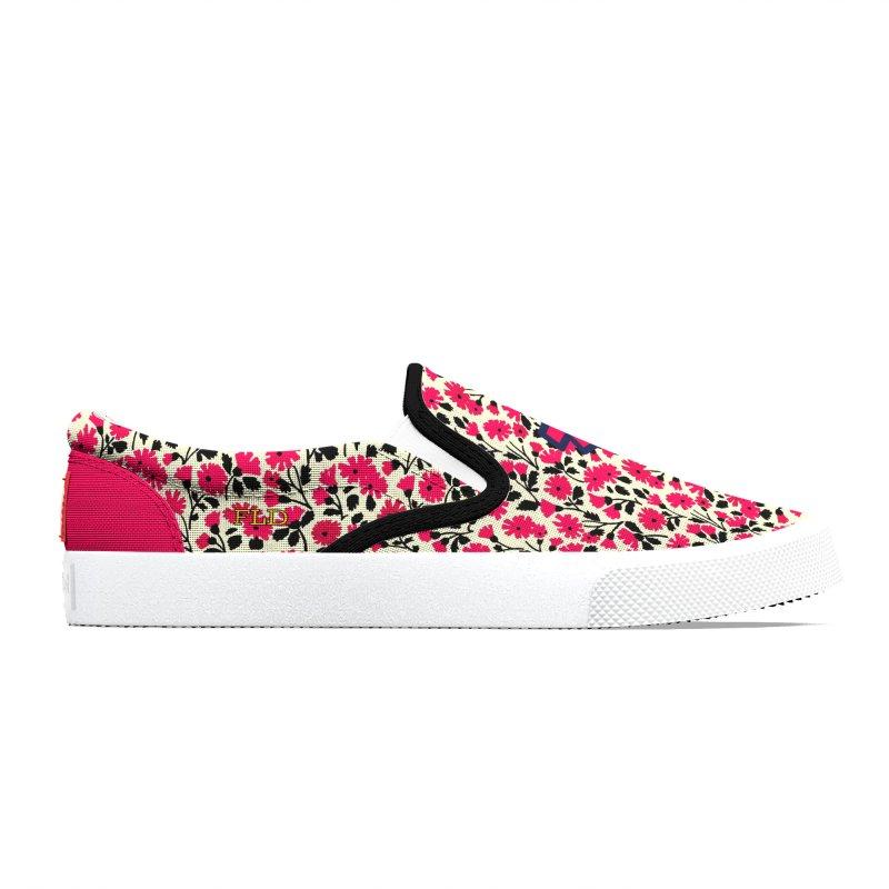 FLD Floral Pattern 2 Shoes Men's Shoes by falconlara.design shop
