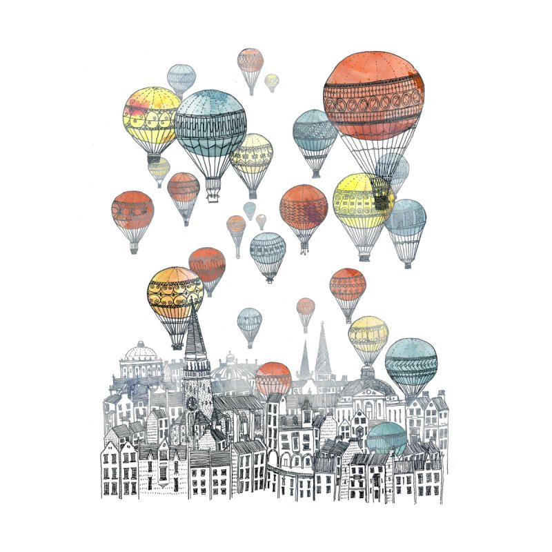 Voyages Over Edinburgh by fleck's Artist Shop