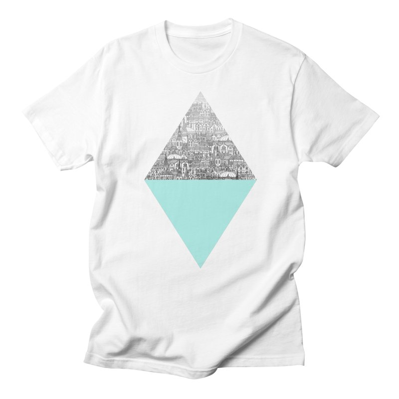 Diamond Men's T-Shirt by fleck's Artist Shop
