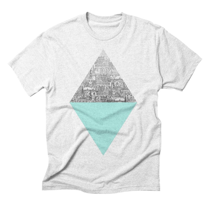 Diamond Men's Triblend T-shirt by fleck's Artist Shop