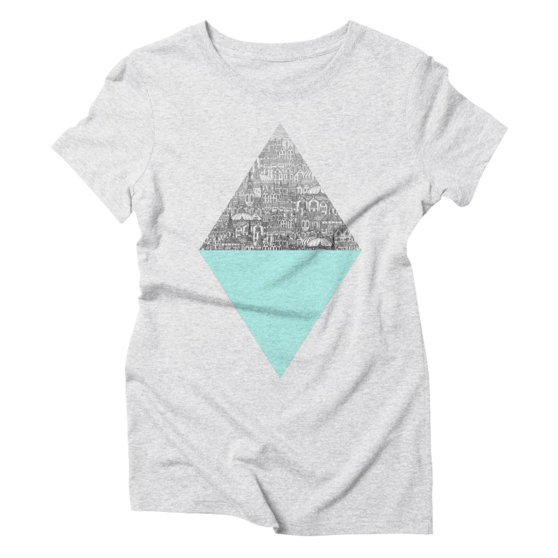 Diamond Women's Triblend T-shirt by fleck's Artist Shop
