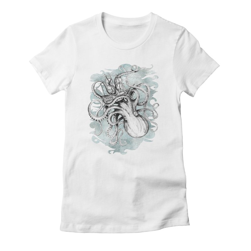 The Baltic Sea Women's Fitted T-Shirt by fleck's Artist Shop