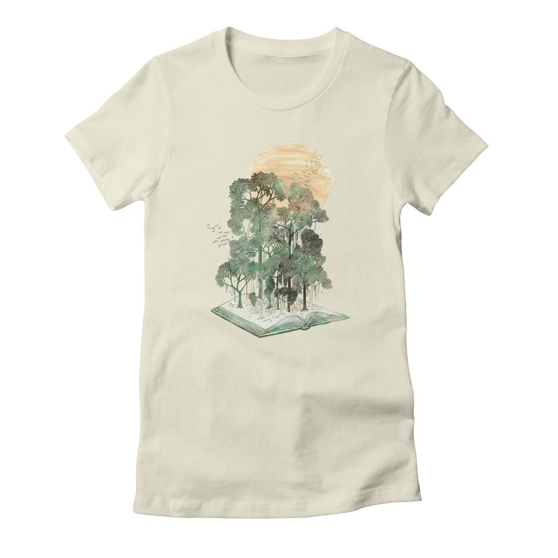 The Jungle Book Women's Fitted T-Shirt by fleck's Artist Shop