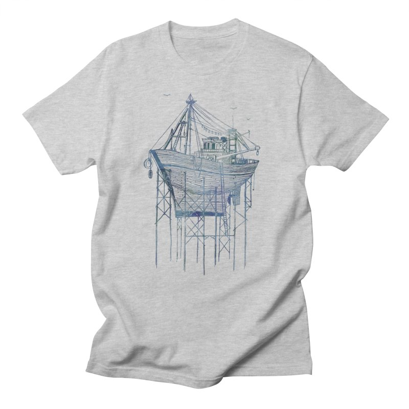 Dry Dock Men's T-Shirt by fleck's Artist Shop