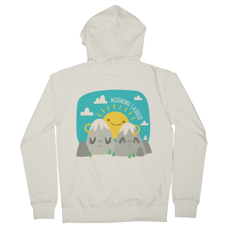 Sunrise Men's Zip-Up Hoody by flim's Artist Shop