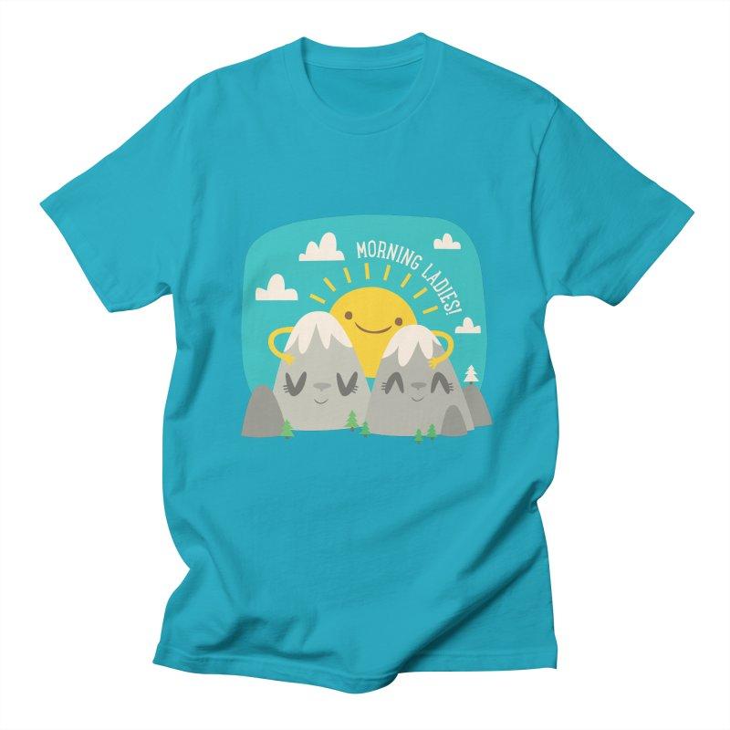 Sunrise Men's T-Shirt by flim's Artist Shop