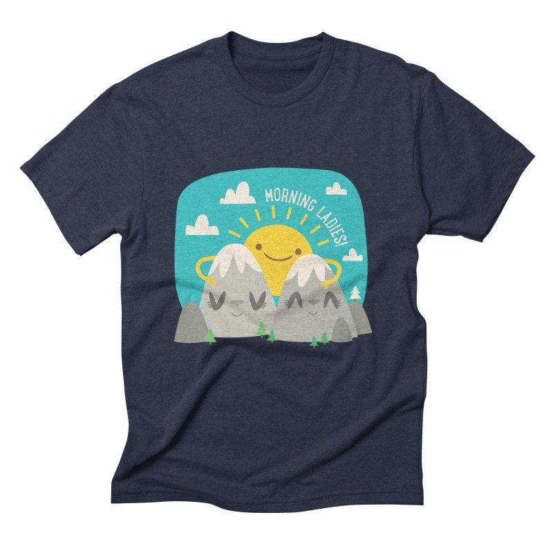 Sunrise Men's Triblend T-shirt by flim's Artist Shop
