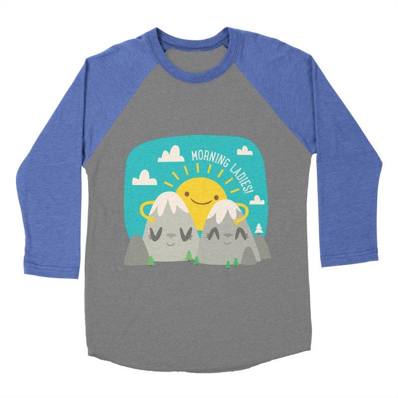 Sunrise Women's Baseball Triblend T-Shirt by flim's Artist Shop