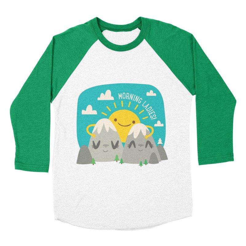 Sunrise Men's Baseball Triblend T-Shirt by flim's Artist Shop