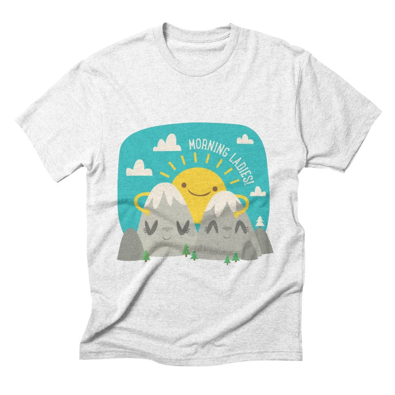 Sunrise Men's Triblend T-shirt by flim's Artist Shop