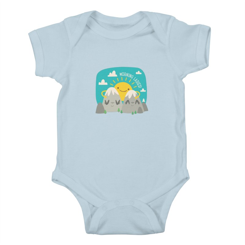 Sunrise Kids Baby Bodysuit by flim's Artist Shop
