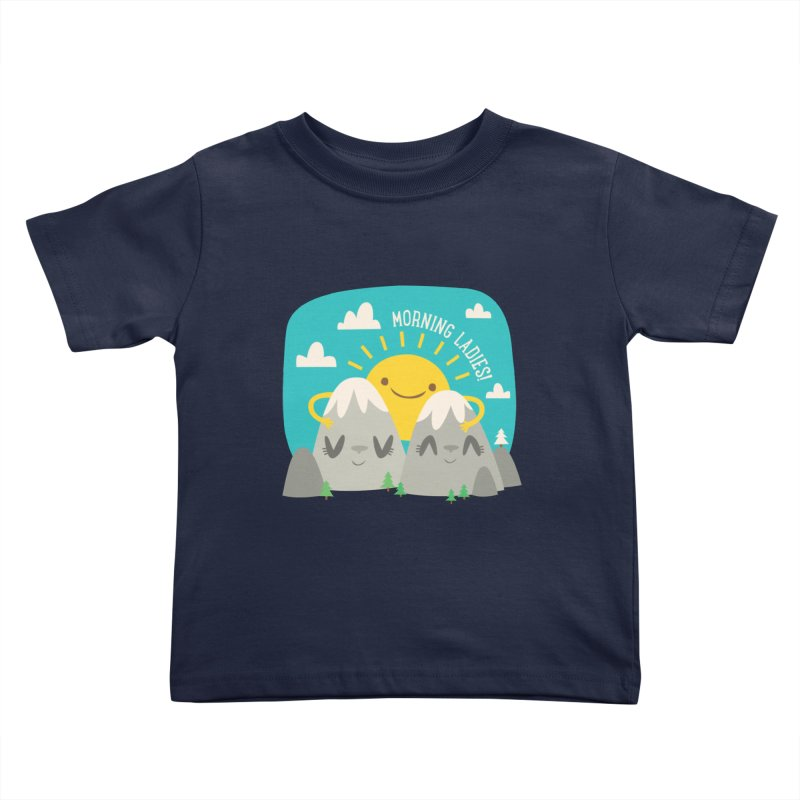 Sunrise Kids Toddler T-Shirt by flim's Artist Shop