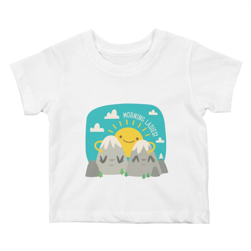 Sunrise Kids Baby T-Shirt by flim's Artist Shop