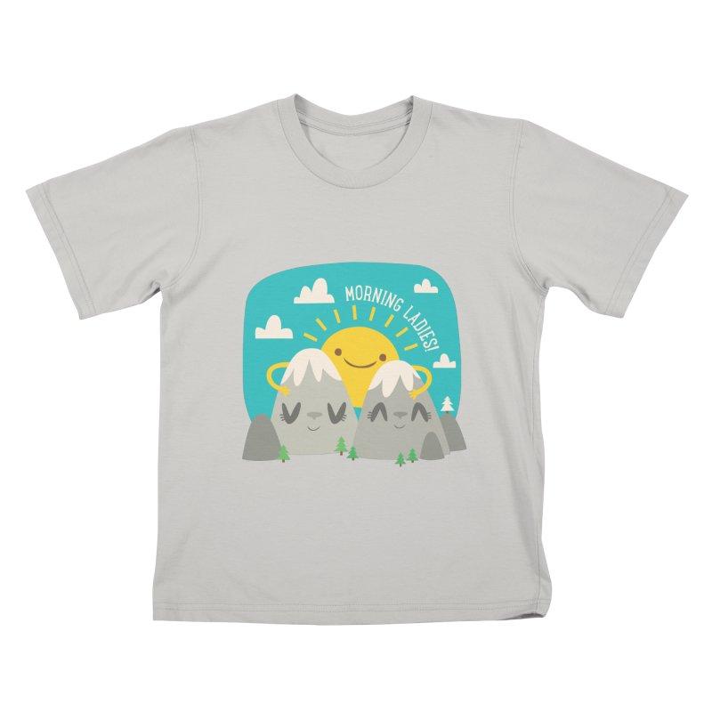 Sunrise Kids T-shirt by flim's Artist Shop