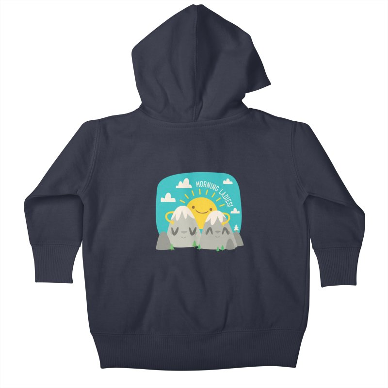 Sunrise Kids Baby Zip-Up Hoody by flim's Artist Shop