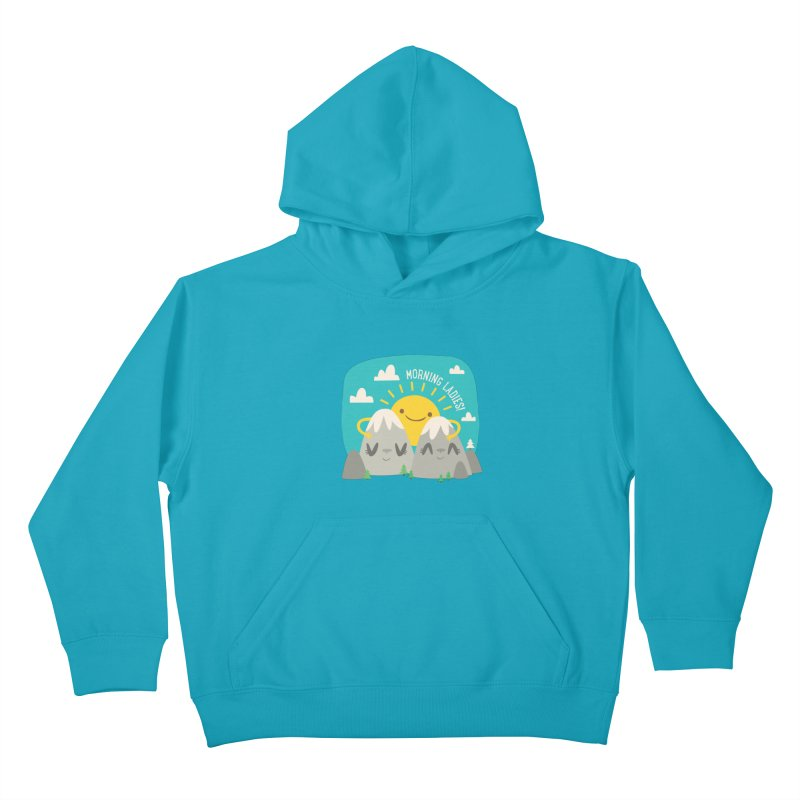 Sunrise Kids Pullover Hoody by flim's Artist Shop