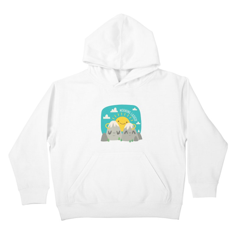Sunrise Kids Pullover Hoody by flim's Artist Shop