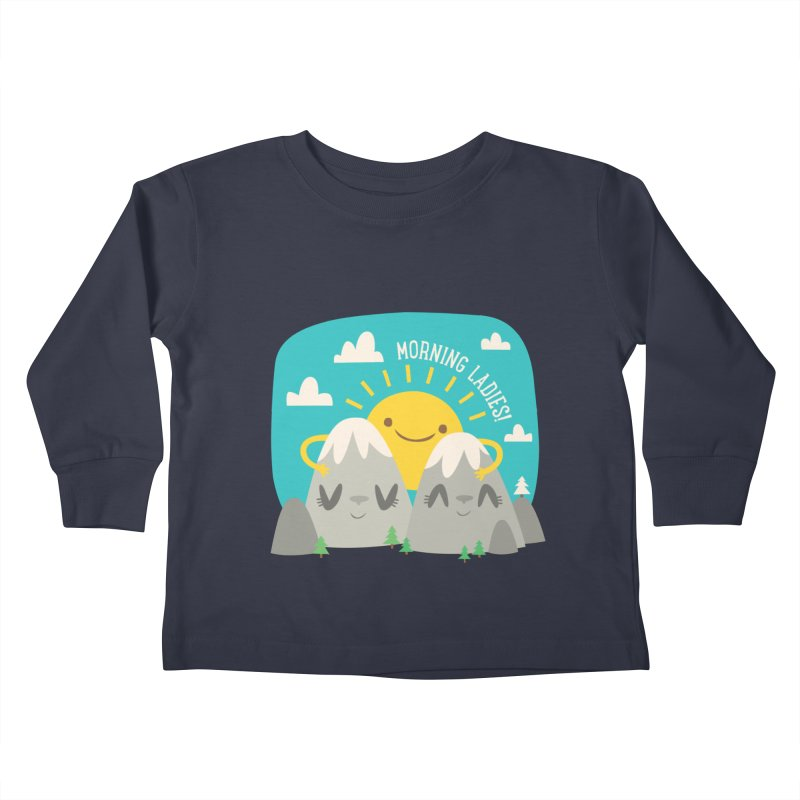 Sunrise Kids Toddler Longsleeve T-Shirt by flim's Artist Shop