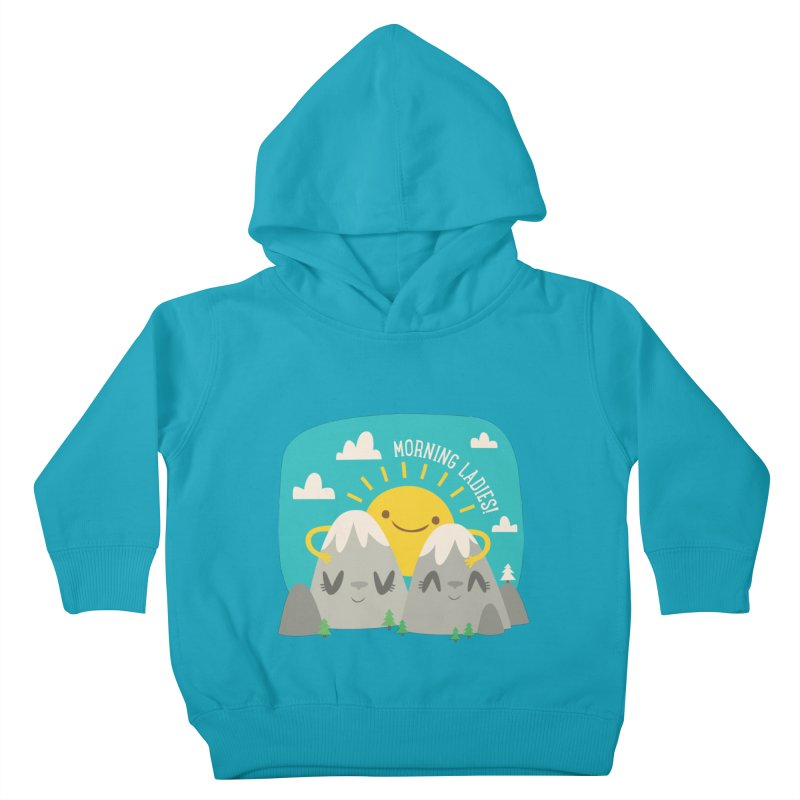 Sunrise Kids Toddler Pullover Hoody by flim's Artist Shop