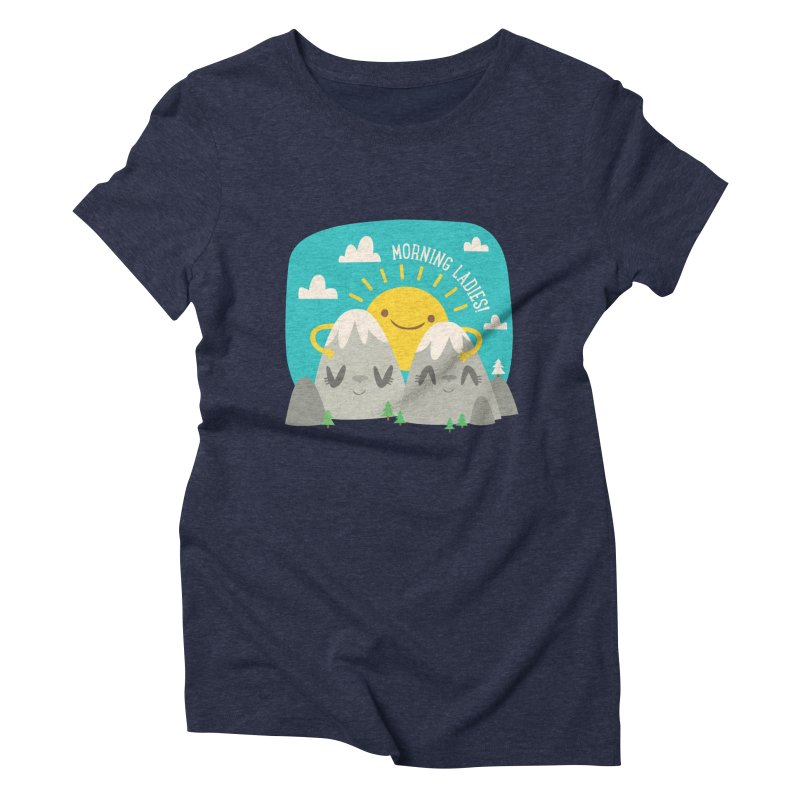 Sunrise Women's Triblend T-shirt by flim's Artist Shop