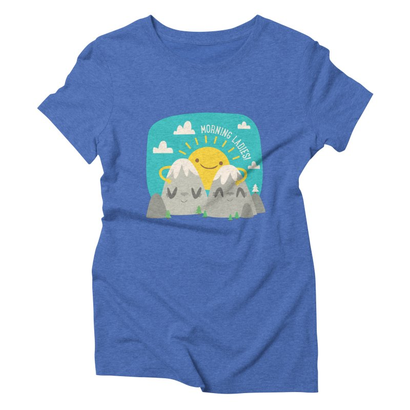 Sunrise Women's Triblend T-shirt by flim's Artist Shop