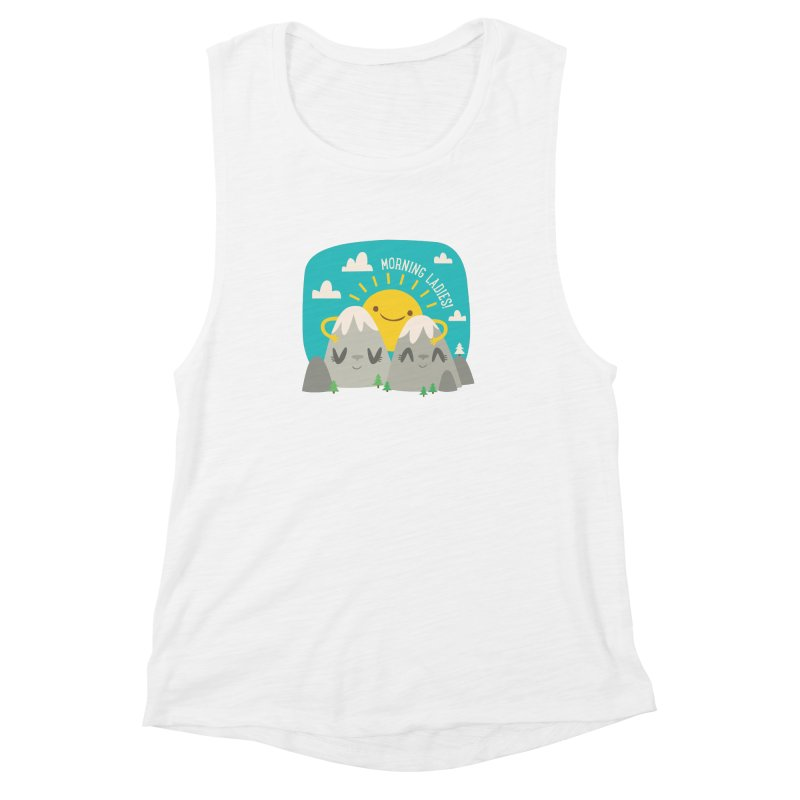 Sunrise Women's Muscle Tank by flim's Artist Shop
