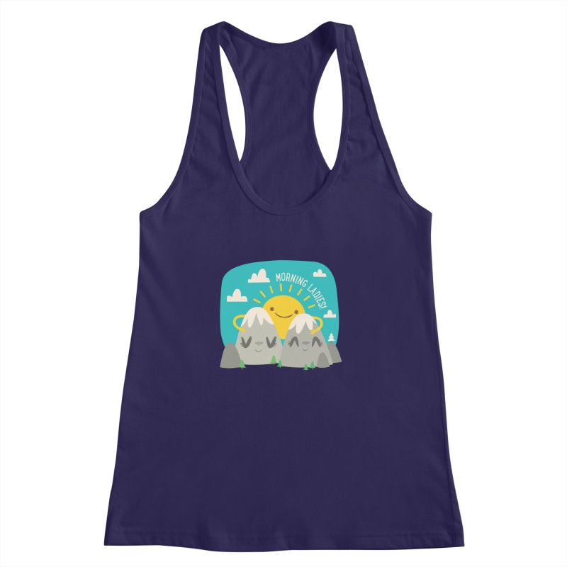 Sunrise Women's Racerback Tank by flim's Artist Shop
