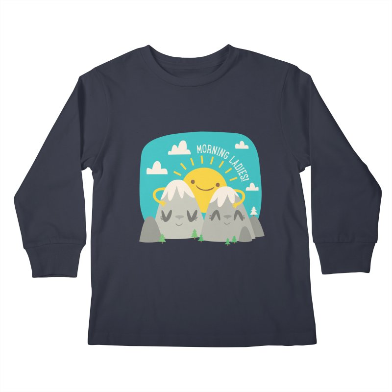 Sunrise Kids Longsleeve T-Shirt by flim's Artist Shop