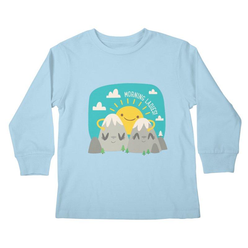 Sunrise Kids Longsleeve T-Shirt by flim's Artist Shop