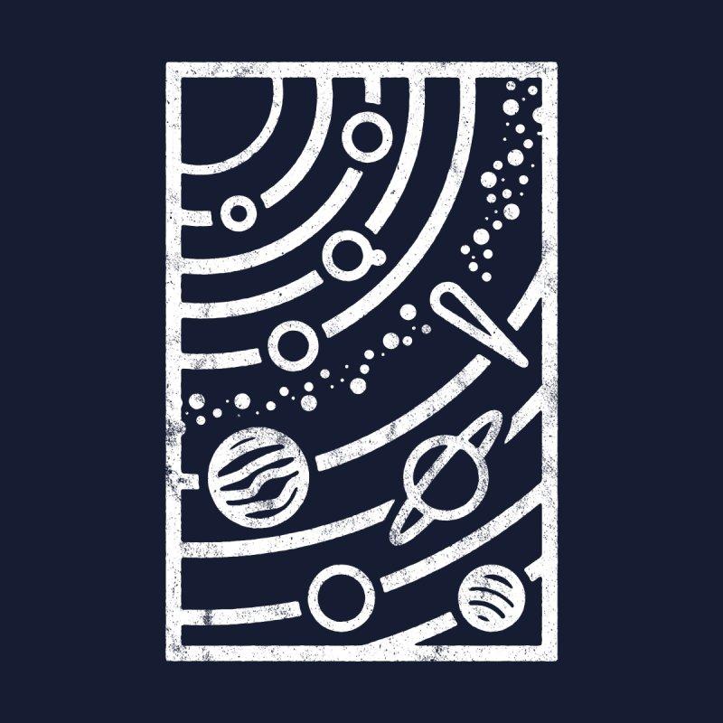 """Astronomical"" White Women's T-Shirt by Flint + Birch"