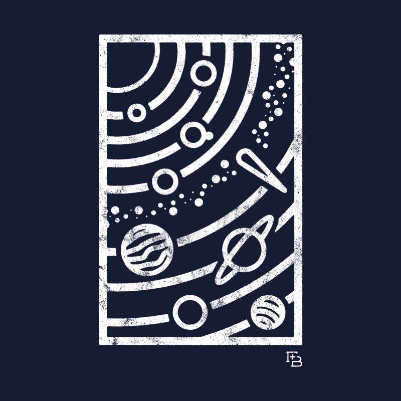 """""""Astronomical"""" White Men's Tank by Flint + Birch"""