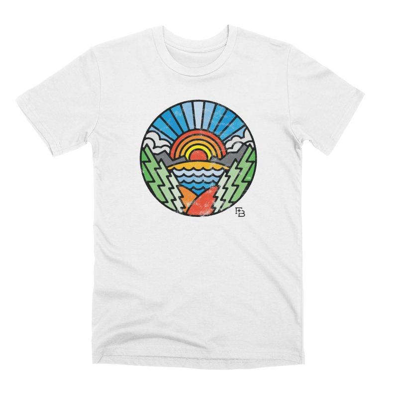 """Majesty"" Color Men's T-Shirt by Flint + Birch"