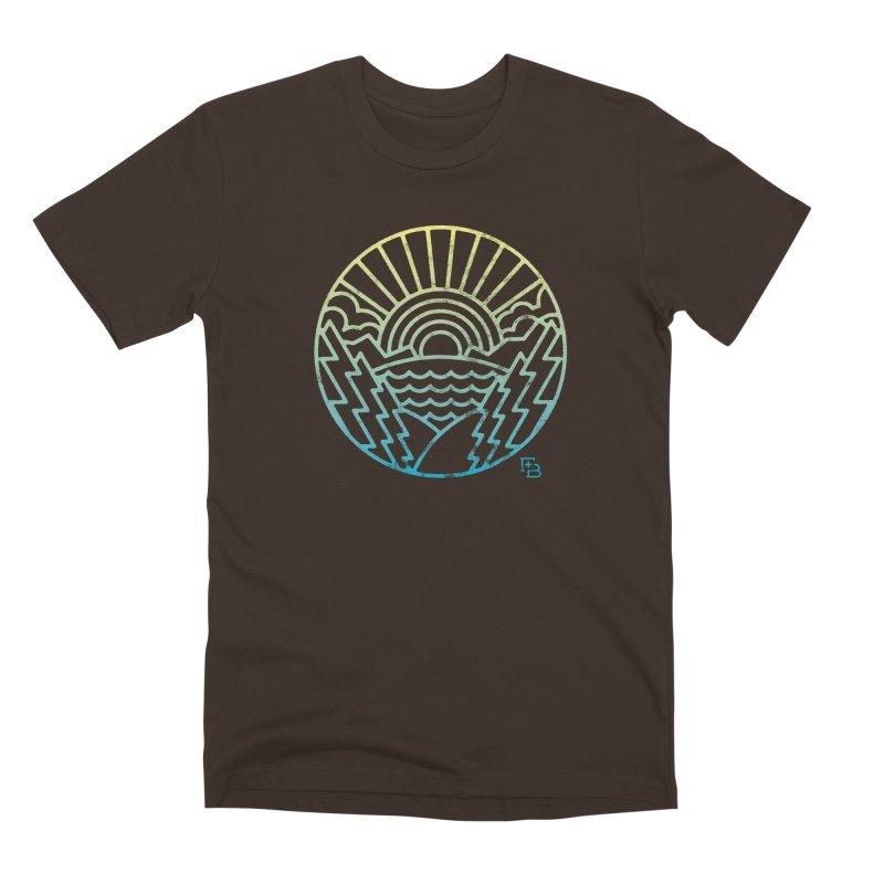 """""""Majesty"""" Gradient Men's T-Shirt by Flint + Birch"""