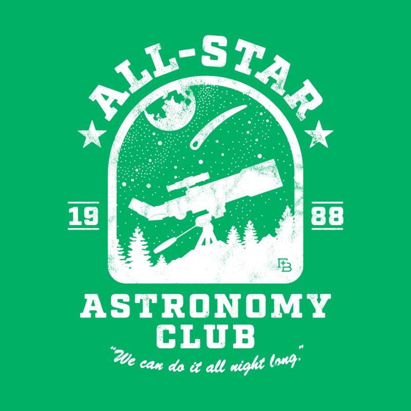 """Astronomy Club"" White Men's Tank by Flint + Birch"