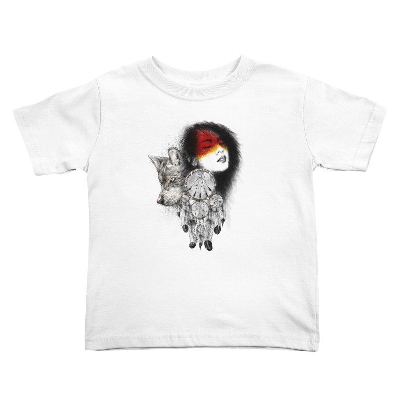 Dream Catcher Kids Toddler T-Shirt by flintskyy's Artist Shop