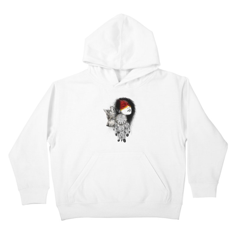 Dream Catcher Kids Pullover Hoody by flintskyy's Artist Shop
