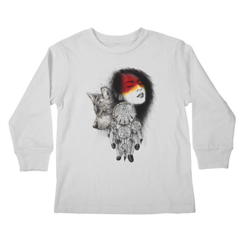 Dream Catcher Kids Longsleeve T-Shirt by flintskyy's Artist Shop