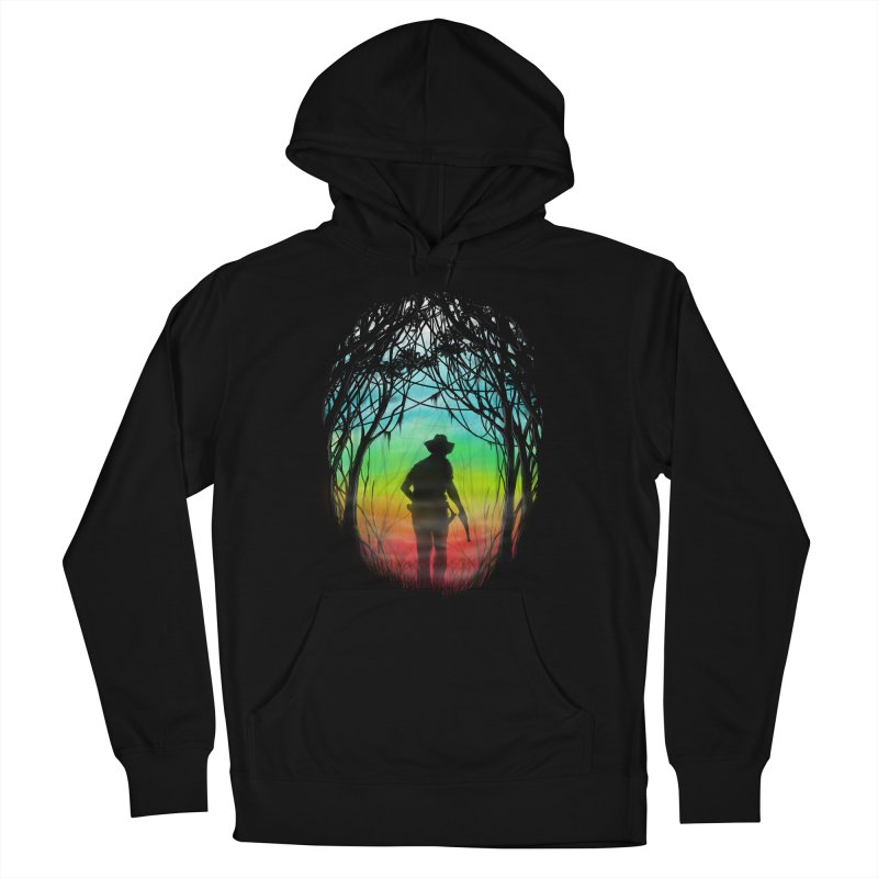 The Hunt Women's French Terry Pullover Hoody by flintskyy's Artist Shop