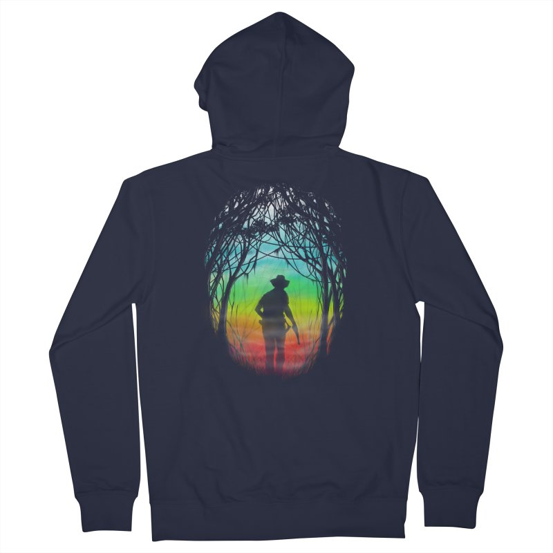The Hunt Women's French Terry Zip-Up Hoody by flintskyy's Artist Shop
