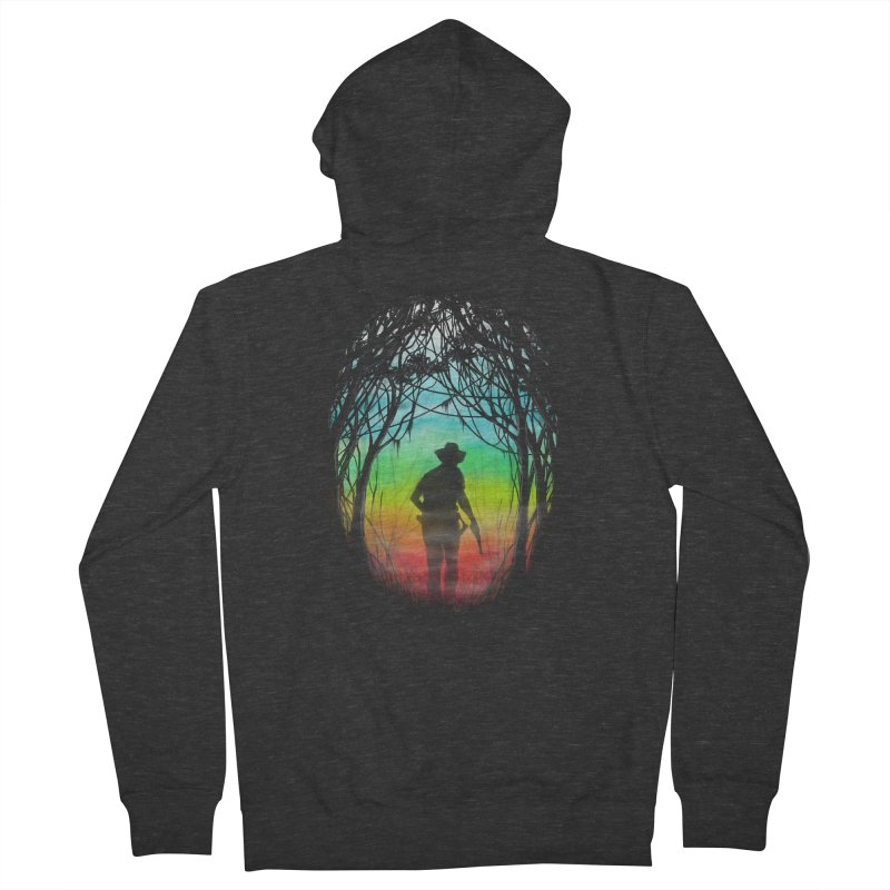 The Hunt Men's Zip-Up Hoody by flintskyy's Artist Shop