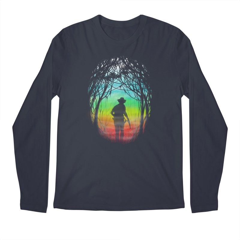 The Hunt Men's Longsleeve T-Shirt by flintskyy's Artist Shop