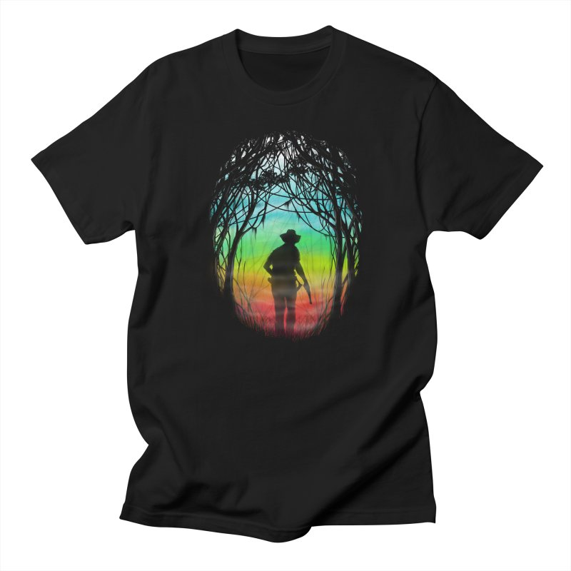 The Hunt Men's T-shirt by flintskyy's Artist Shop