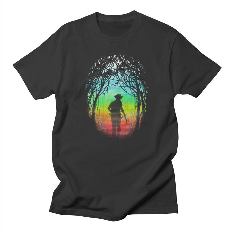 The Hunt Women's Unisex T-Shirt by flintskyy's Artist Shop