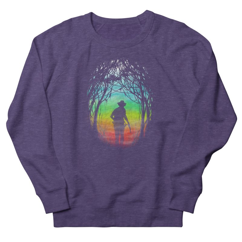 The Hunt Men's French Terry Sweatshirt by flintskyy's Artist Shop