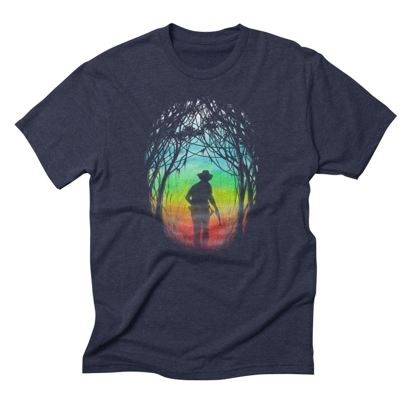 The Hunt Men's Triblend T-Shirt by flintskyy's Artist Shop