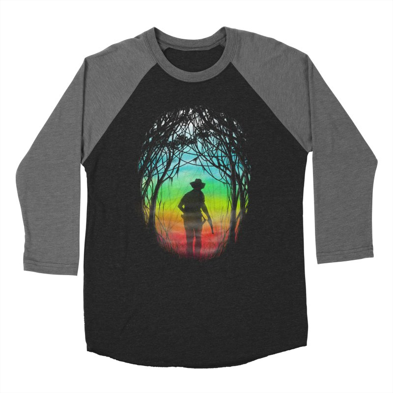 The Hunt Men's Baseball Triblend T-Shirt by flintskyy's Artist Shop