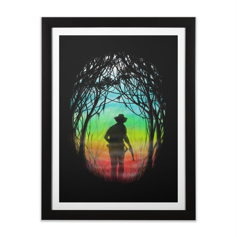 The Hunt Home Framed Fine Art Print by flintskyy's Artist Shop
