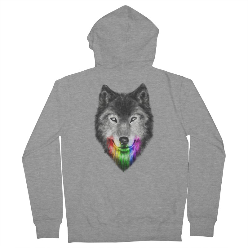 The Obsession of Chroma Women's French Terry Zip-Up Hoody by flintskyy's Artist Shop